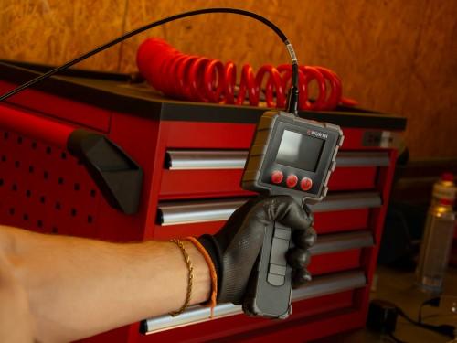 Cámara LCD de Inspección Boroscópica para tuberías mecánicas.