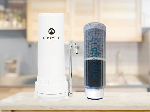 Purificador de Agua Eleva Ph del Agua Hidrolit Alcalinizer