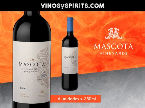Vino La Mascota Malbec 750ml. - Mascota Vineyards