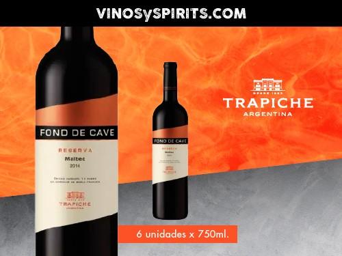 Vino Fond de Cave Reserva Malbec 750 ml. - Trapiche
