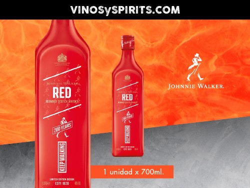 Whisky Johnnie Walker Icon Red Label 700ml.