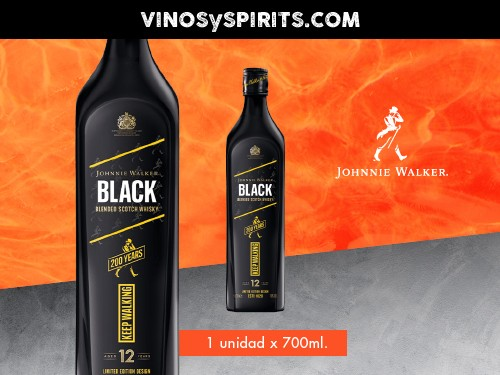 Whisky Johnnie Walker Icon Black Label 700ml.