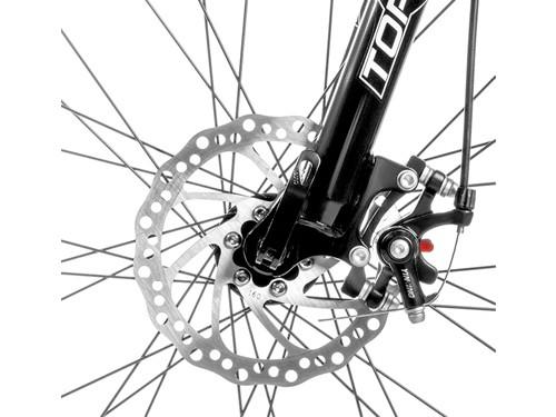 Bicicleta MTB Sunshine R29 Talle M 21v Shimano Negro/Amarillo Top Mega