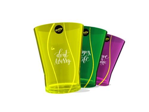 Pritty Limón SIN AZÚCAR 1.5 L x 6 unidades + 3 vasos acrílicos
