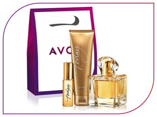 Set X3 Today Perfume, loción perfumada y spray Avon