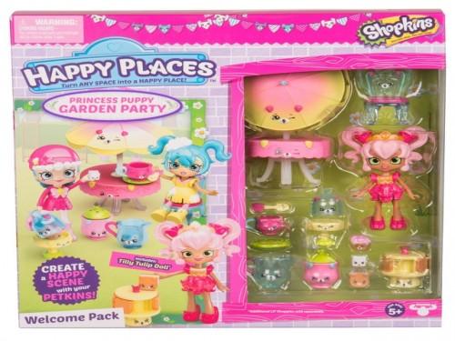 Shopkins Happy Places Princess Puppy Garden Party. Art 56930.