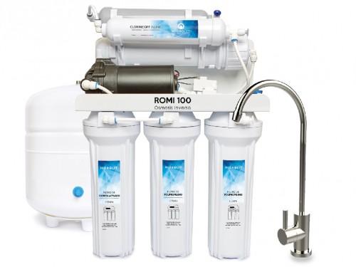 Planta purificadora de Agua Mineral 6 Etapas de Filtración Hidrolit