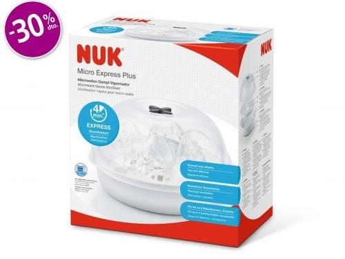 Esterilizador Nuk Microondas Express Plus
