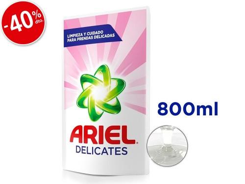 Jabón Liquido Ariel Pouch Delicates x800ml