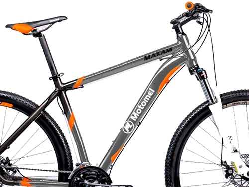Bicicleta Maxam 490 M Gris Naranja Motomel