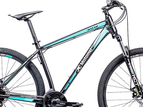 Bicicleta Maxam 390 S Negro Turquesa Motomel