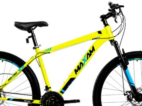 Bicicleta Maxam 90 M Negro Amarillo Motomel
