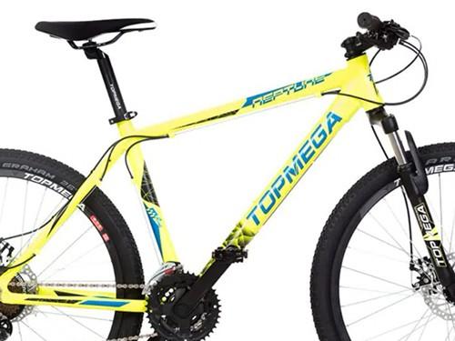 Bicicleta MTB Neptune T18 21V Shimano Amarillo Top Mega