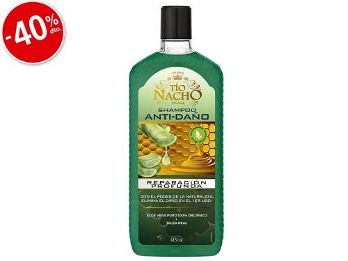 Shampoo Tio Nacho Antidaño Con Aloe Vera x415ml
