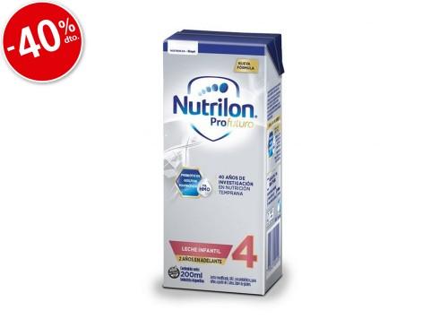 Nutrilon Leche Infantil x 200ml Etapa 4 Profutura Liquida