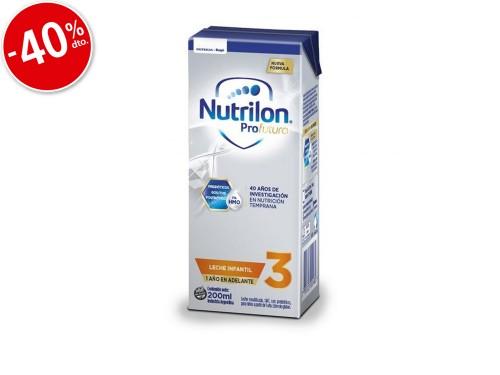 Nutrilon Leche Infantil x 200ml Etapa 3 Profutura Liquida