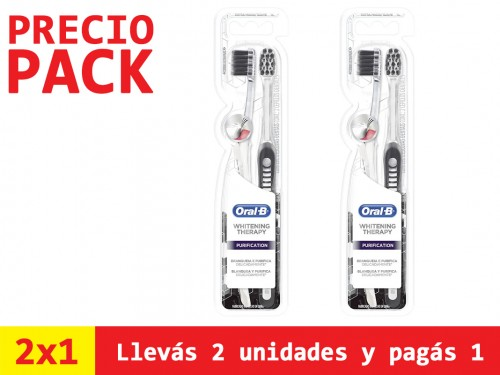 Cepillo Dental Oral-b Compact Purification x2un