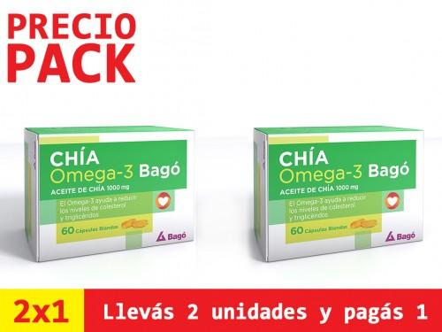 Chía Omega 3 Suplemento Dietario x60Cps