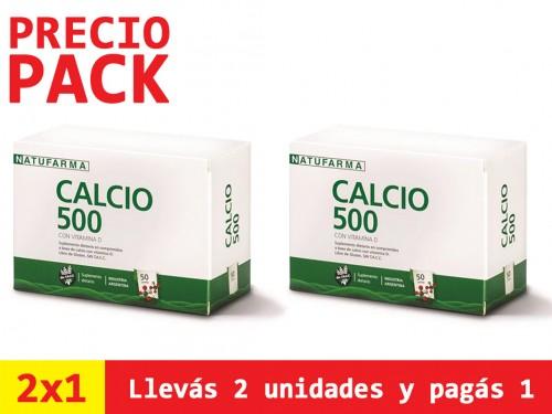 Natufarma Suplemento Dietario x 50Cps Calcio 500 Con Vitamina D