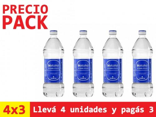 Alcohol Bialcohol Etílico 96% x1 Lt