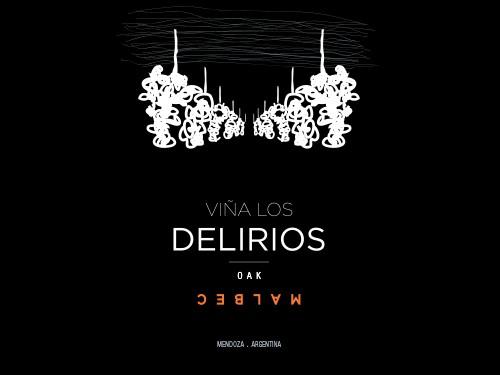 VINO TINTO VIÑA LOS DELIRIOS OAK MALBEC caja x 6