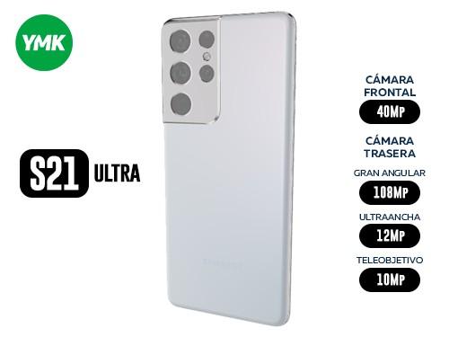 CELULAR SAMSUNG S21 ULTRA 5G 256/12GB SILVER