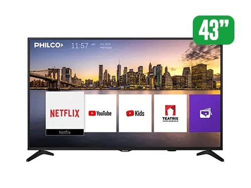 "TV PHILCO 43"" SMART FHD PLD43FS9A"