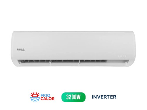 AIRE ACOND PHILCO Split Inverter 3200W PHIN32H17N Frío/calor