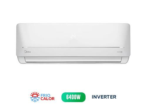 Aire Acond MIDEA Split Inverter Frío/Calor MSABIC-22H-01F  6400 w