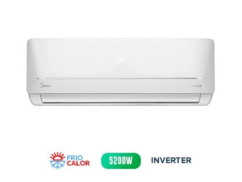 Aire Acond MIDEA Split Inverter Frío/Calor MSABIC-18H-01F 5200 w