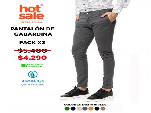 Pantalón de Gabardina Pack X2 VINSON