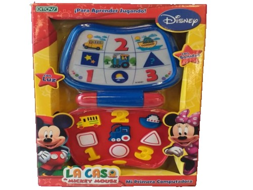Mi Primera Computadora Mickey Mouse Ditoys 1127