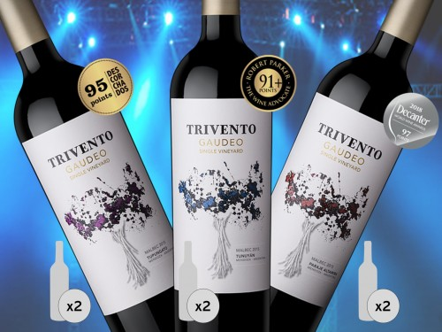 Trivento Gaudeo Single Vineyard Malbec x 6 bot Entrega gratis