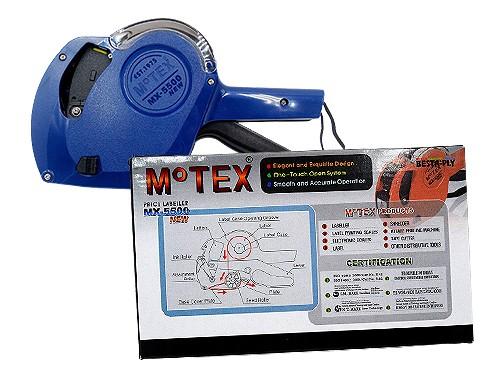 Etiquetadora Rotuladora Motex Mx-5500 (Original) 8 Digitos Números