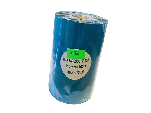 "Ribbon Cera 110x300 Caja De 24 Ribbon de Buje Grande Out 1"""