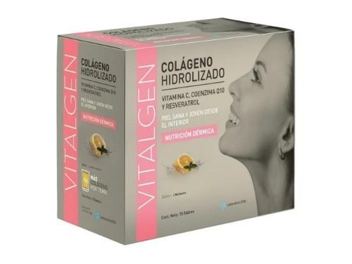 Suplemento Dietario Colágeno Hidrolizado Vitalgen 15 sob