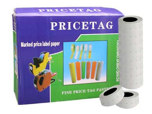 Caja Etiquetas Blanca para Precios Mx-5500 de 100 Rollos x800 Etiqueta