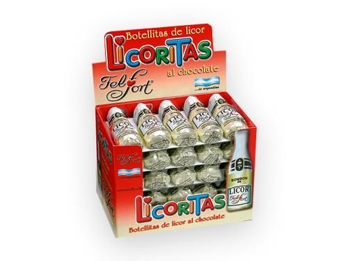 Licoritas Felfort. Caja con 25u. de 20 g.