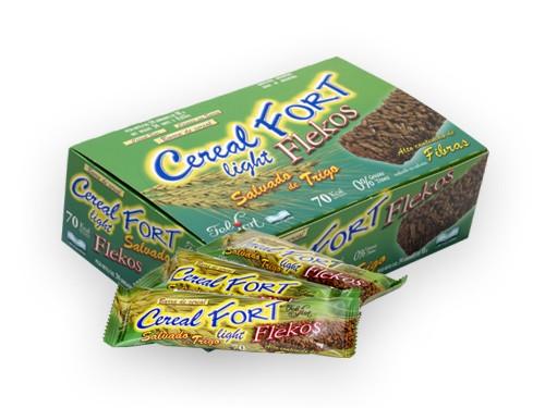 Cerealfort Flekos.Caja con 24u. de 18g.