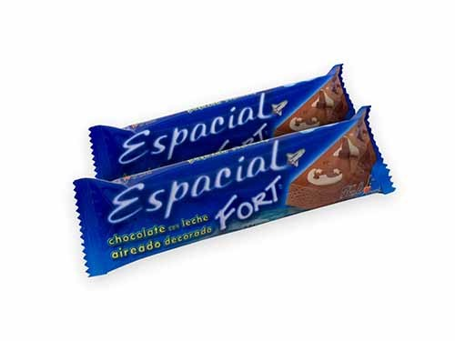 Chocolate Espacial Fort. Caja con 20u. de 24g.