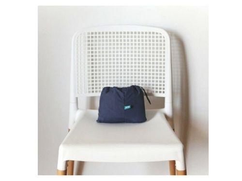 Silla de comer portátil para bebé Upego | Azul