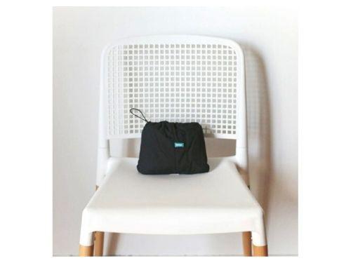 Silla de comer portátil para bebé Upego |  Silla Pocket Negra