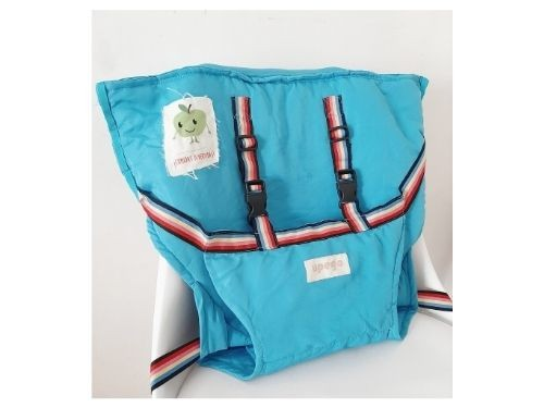 Silla de comer portátil para bebé Upego | Silla pocket Turquesa