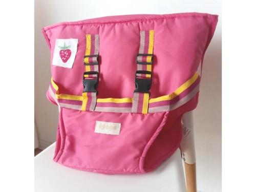 Silla de comer portátil para bebé Upego | Silla pocket PINK!