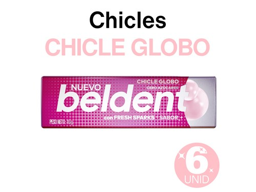 Beldent Chicle Chicle Globo