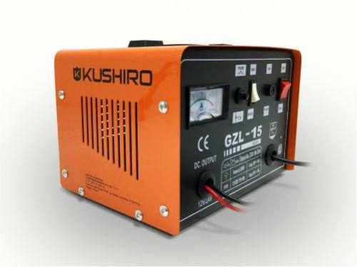 Cargador Bateria para Auto y Moto 15amp 12v 24v Kushiro