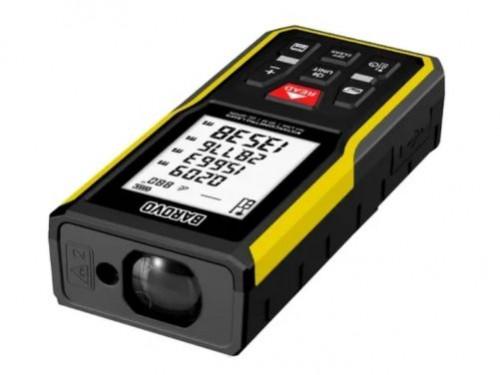 Distanciometro Medidor Laser 50mt a Bateria Ion-litio Barovo