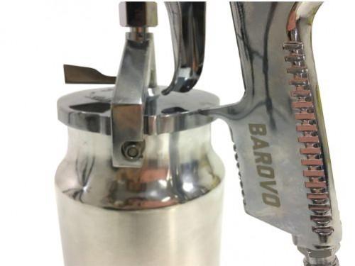 Pistola De Pintar Baja Presión con Tacho de Aluminio Barovo Bpp40