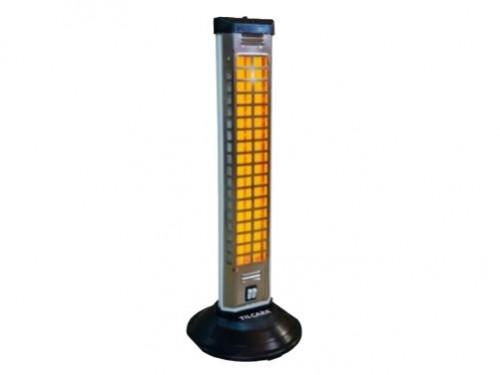 Estufa Calefactor Verical De Cuarzo 2 Velas 1200w Tilcara