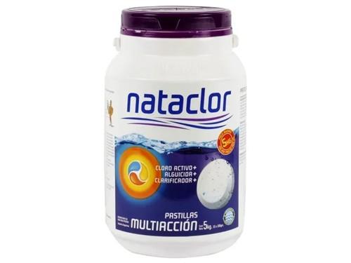 Pastillas De Cloro Multiacción 200Gr De 5Kg Nataclor Rinde +